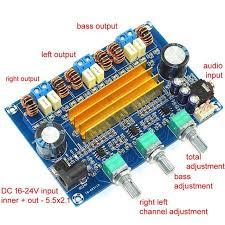 Dual Chip 3 channel <b>TPA3116</b> 2.1 <b>100W</b>+50W x 2 HIFI Digital <b>class</b> ...