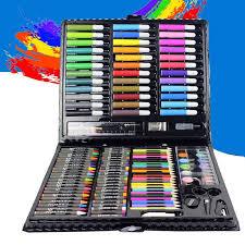 <b>150pcs</b>/<b>set</b> crayon water-color <b>Drawing Painting</b> Set Water Color ...