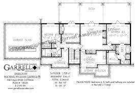 Falls River Cottage House Plan   House Plans by Garrell Associates        falls river cottage house plan   basement floor plan