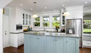 in style kitchen cabinets: colorful cabinets are back in style submitted photo