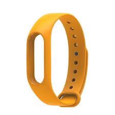 <b>Aксессуар Ремешок Apres</b> for Xiaomi Mi Band 2 Silicone Orange ...
