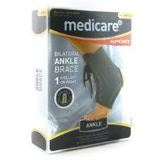 MEDICARE SPORT BI-LATERAL <b>ANKLE BRACE SML</b> | Fleming ...