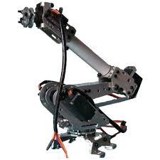 <b>6dof mechanical</b> robot arm claw with servos for robotics arduino diy ...