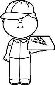 Small Picture Coloring Pages Kids Pizza Coloring Pages Pizza Coloring Page