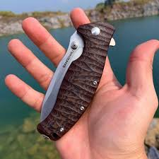 <b>SANRENMU SRM NEW 1006</b> Pocket Folding Knife 14C28N Blade ...