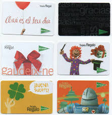 LOT OF 12 GIFT CARD