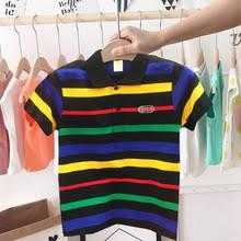 Летняя спортивная <b>детская рубашка поло</b> для мальчиков Модная ...