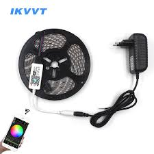 <b>IKVVT 5M</b> 5050 RGB WIFI LED Strip light Waterproof 10M <b>rgb led</b> ...
