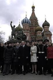 On National Unity Day Vladimir Putin laid <b>flowers on the</b> monument ...