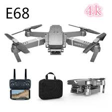 720 P/ 1080 P/4 K E68 <b>Folding Quadcopter</b> WIFI Real-time <b>Aerial</b> ...