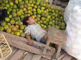 Sleepin with Oranges