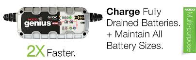 Battery Chargers, Conditioners NOCO G15000 15A <b>Fully Intelligent</b> ...