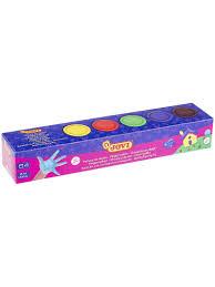 <b>Краски пальчиковые JOVI</b>, 5 цветов, баночка 35 мл JOVI 4196424 ...