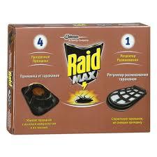 <b>Приманка</b> для <b>тараканов RAID</b> MAX 4+1 — купить в интернет ...