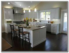 Small Picture White Kitchen Cabinets With Dark Floors 35 Striking White Kitchens