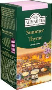 Купить <b>Чай</b> черный <b>Ahmad Tea Summer</b> Thyme 25 пак с ...