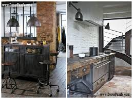 industrial kitchen furniture awesome picture chic industrial furniture