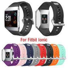 2020 New <b>Silicone</b> Strap For Fitbit ionic Wrist Band <b>Smart</b> Watch ...