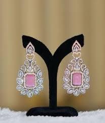 Ladies Gift Large Flower <b>Crystal Round</b> Rhinestone <b>Clip on</b> Earrings ...