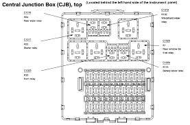 i need a lay out for a 2000 ford focus fuse panel i bought