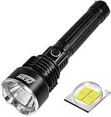Powerful <b>Flashlight</b> Rechargeable Waterproof Searchlight with <b>P50</b> ...