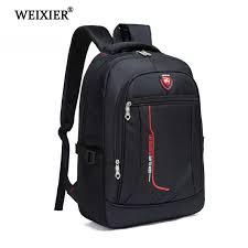 <b>WEIXIER</b> Multifunctional Large Men Capacity Student Schoolbag ...