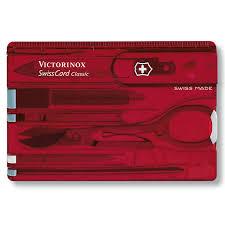 <b>Швейцарская карточка SwissCard Classic</b> Victorinox, 10 функций