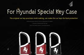 <b>KUKAKEY Car</b> Keychain Keyring Key Case Fob Cover For Hyundai ...