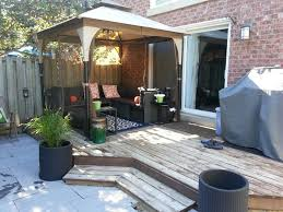 outdoor gazebos small yards and gazebo on pinterest patio furniture for small patios