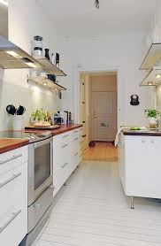 Small Space Kitchen Appliances Kitchen Small Lamp Under Floating Shelf And Fresh Plant Decor On