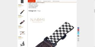 <b>NAOMI Guitar Strap Adjustable</b> Guitar Strap Shoulder Belt For ...