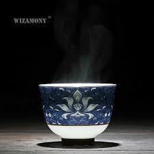 1PCS!!WIZAMONY Bue and White Chinese <b>Jingdezhen Porcelain</b> ...