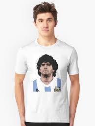 """Maradona - best soccer player"" T-shirt by EnjoyRiot | Redbubble"
