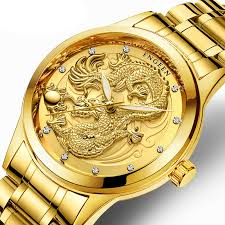 Mens Watches <b>2019 Top Brand</b> Luxury Waterproof Dragon Clock ...