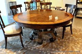 circular expanding table