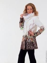"""Верхняя одежда ручной работы. <b>Пальто</b> белое """"Первые ..."""