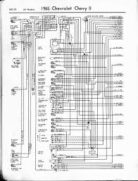 chevy wiring diagrams 1965 chevy ii all models left