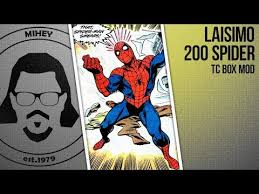 Laisimo 200 <b>Spider</b> TC <b>Box</b> Mod. И снова! Здорова! - YouTube