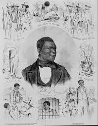 Drawings representing US 1850s people of color