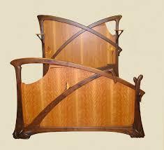mystic bed art deco reproduction furniture
