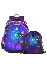 10% <b>UFO</b> PEOPLE Комплект школьный ранец + <b>мешок для обуви</b>