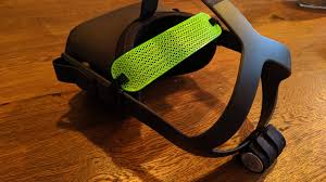 This 3d printed <b>TPU</b> head strap (flexible material) is very light and ...