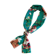 New Summer Scarves For Women Long Scarf With A Double <b>Bow</b> ...
