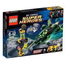 Лего <b>LEGO DC Super</b> Heroes 76025 Зелёный <b>Фонарь</b> против ...