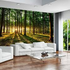 3 colours to choose non woven top murals wall mural photo modern free glue for each wallpaper sunshine forest nature landscape charming wallpaper office 2 modern
