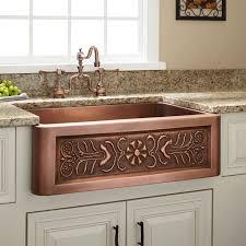 sink kitchen sinks plated cooper