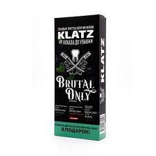 <b>Набор Зубная паста Klatz</b> BRUTAL ONLY