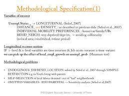 PhD Research Proposal   Labour Economics PhD