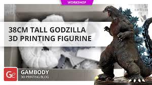38cm Tall <b>Godzilla</b> 3D <b>Printing</b> Figurine - Gambody, 3D <b>Printing</b> Blog