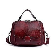 Maci <b>Vintage Genuine Leather</b> Women's <b>Handbag</b> Ladies <b>Purse</b> ...